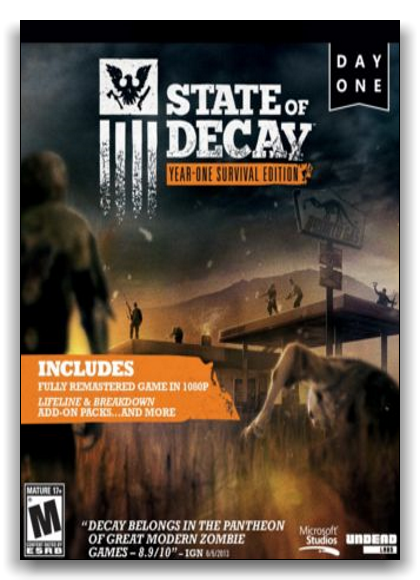 State of Decay: Year One Survival Edition [Update 4] (2015) PC | RePack